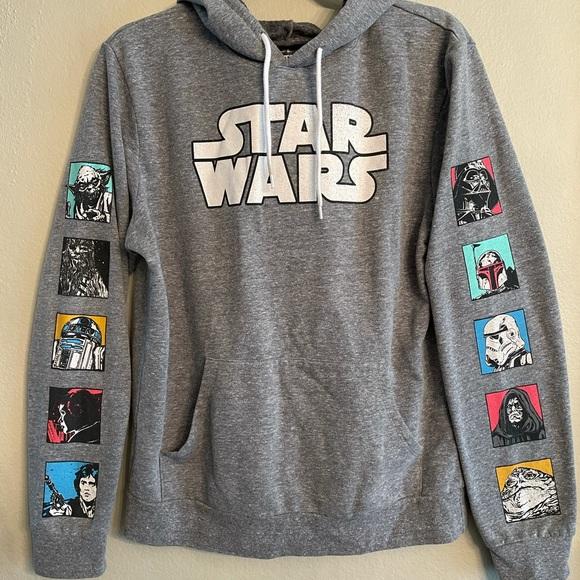 Star Wars Hooded Graphic Sweatshirt Men's M